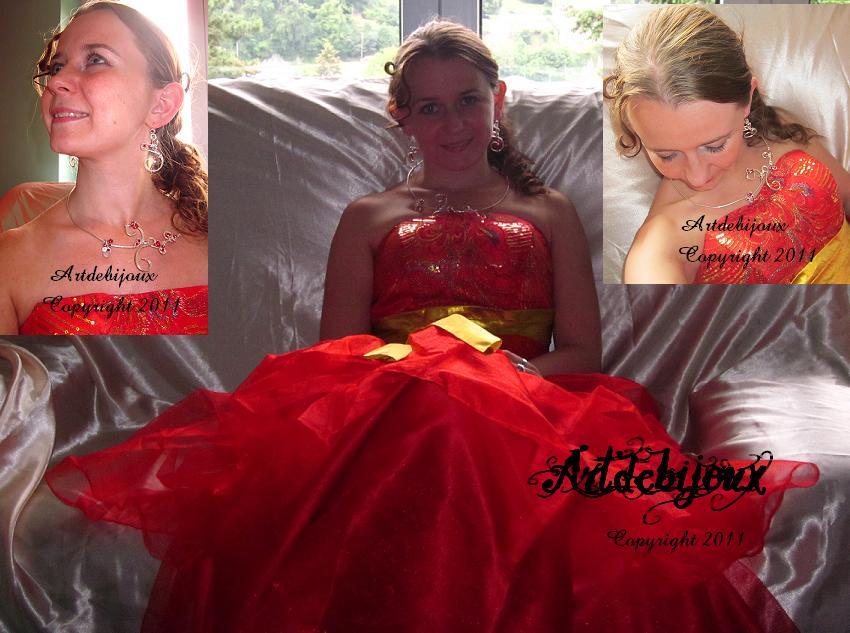 mariage coloré rouge